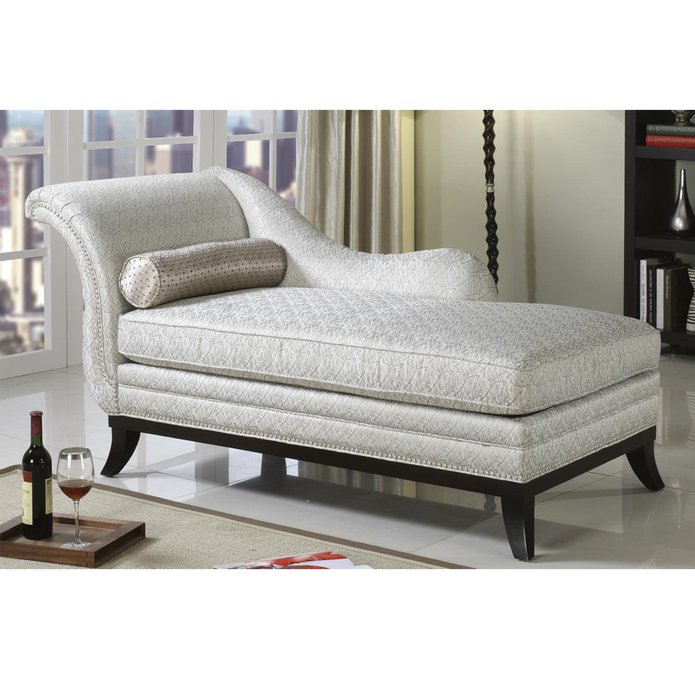 Chantelle collection traditional romantic beige fabric - Chaise tissu beige ...