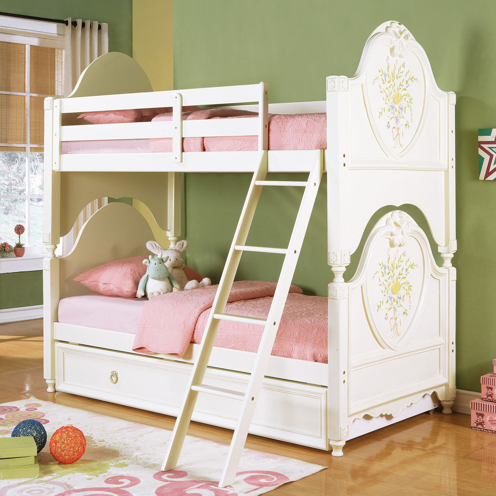 Doll House Style Girls Youth Lovely Twin/Twin Or Twin/Full