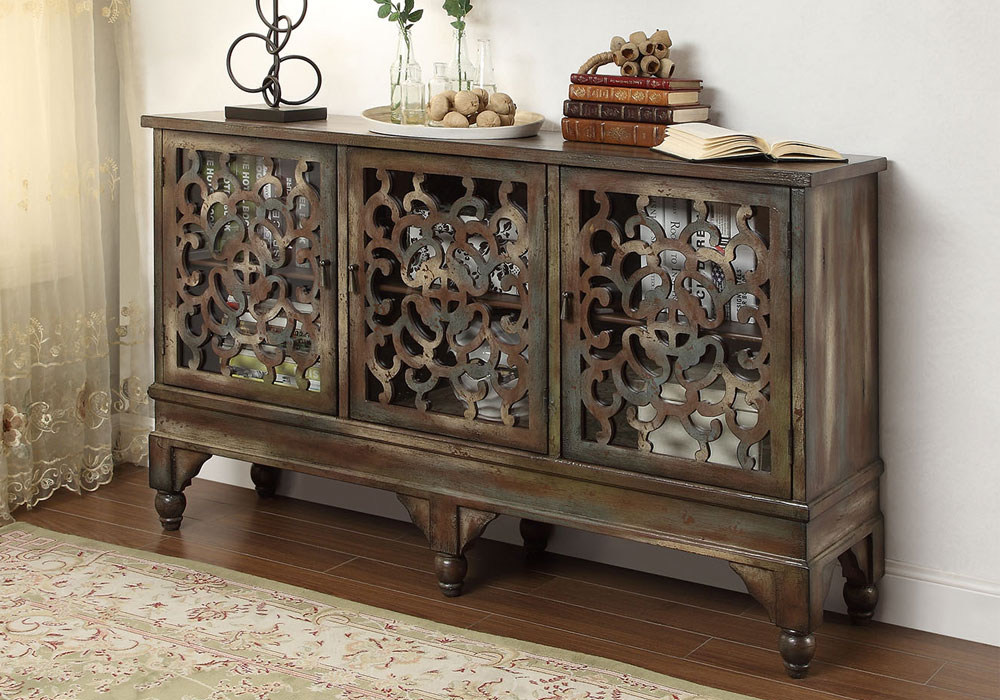 Foyer Table Cabinet : Edwin antique console sofa hallway entryway table cabinet