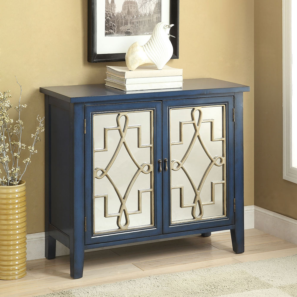 Foyer Console Cabinet : Kacia transitional hallway console sofa cabinet table wood