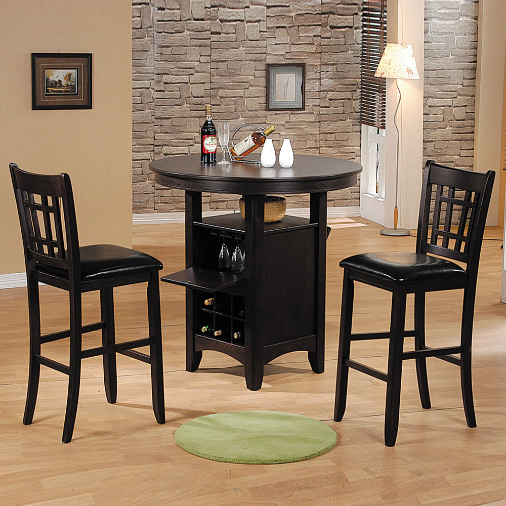 Galan 5 Pc 40 Dia Round Dining Table Set 18 H Side Chair
