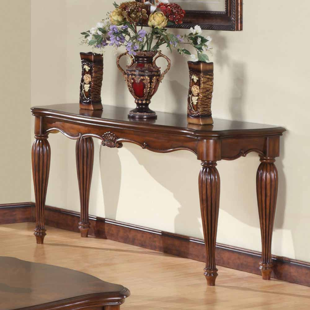 Dreena occasional living room entry console sofa table for Sofa table cherry