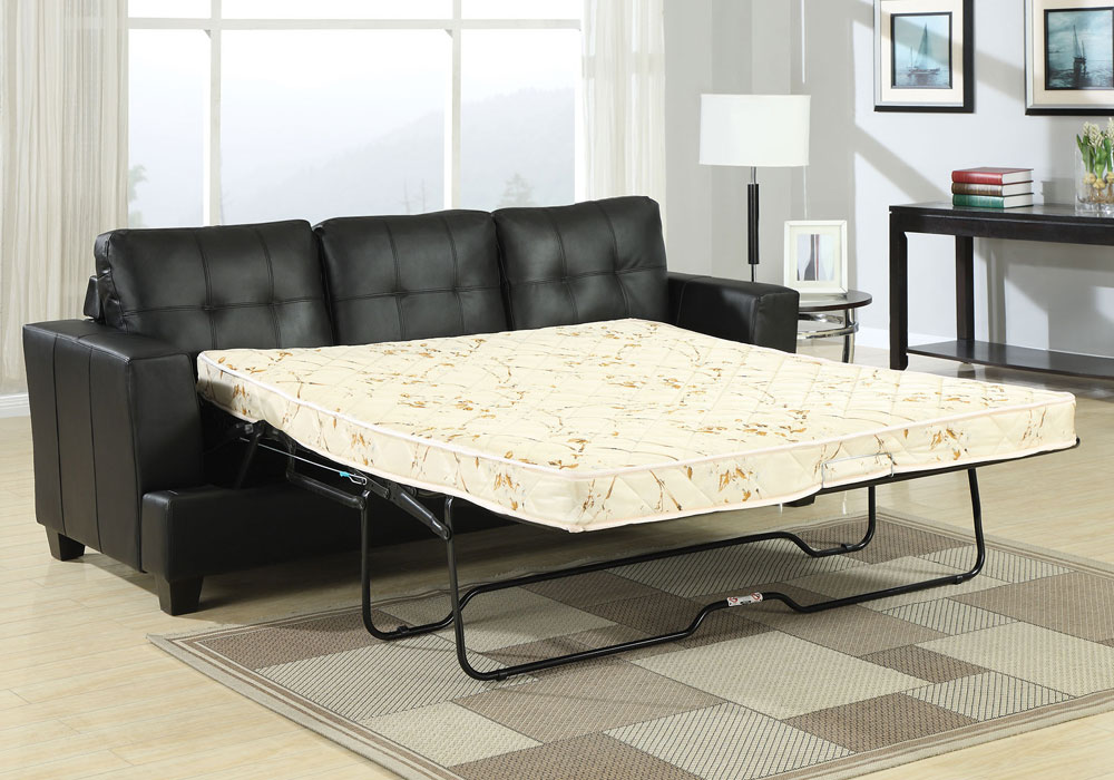 Platinum Sofa Bed 3 Seater Pull Out Queen Sleeper Tufted
