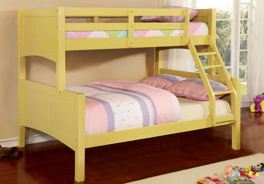 Prismo Kids Youth Convertible Twin over Full Bunk Bed