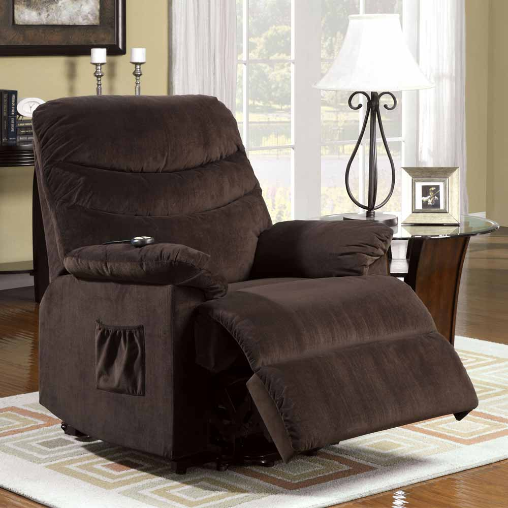 Perth Plush Cushion Recliner Lounger Stand Assist Power