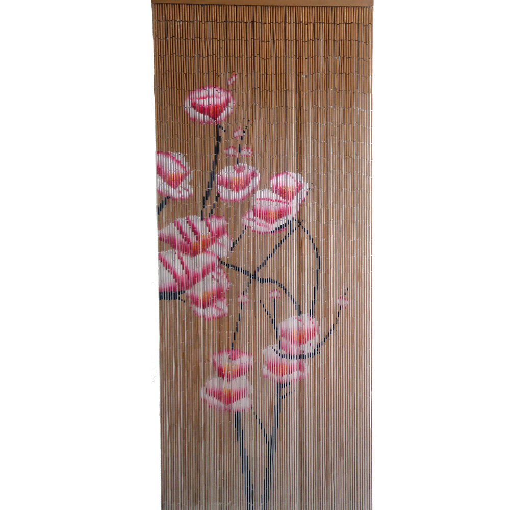 Bamboo Beaded Handmade Curtain Window Door Hanging Shoji