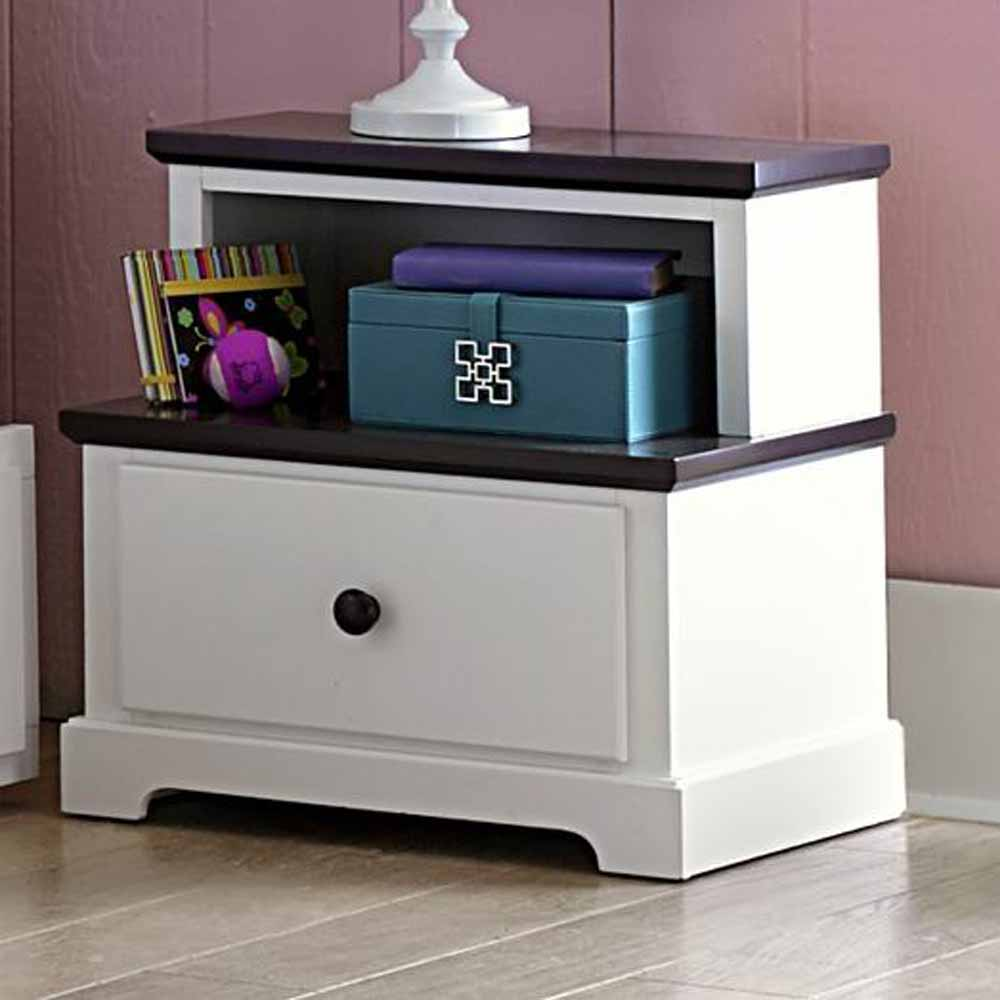 lark youth bedroom step night stand nightstand 1 drawer