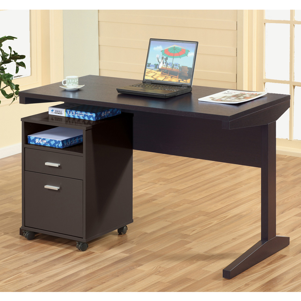 Home office writing computer work study desk stand mobile - Mobile office desk ...