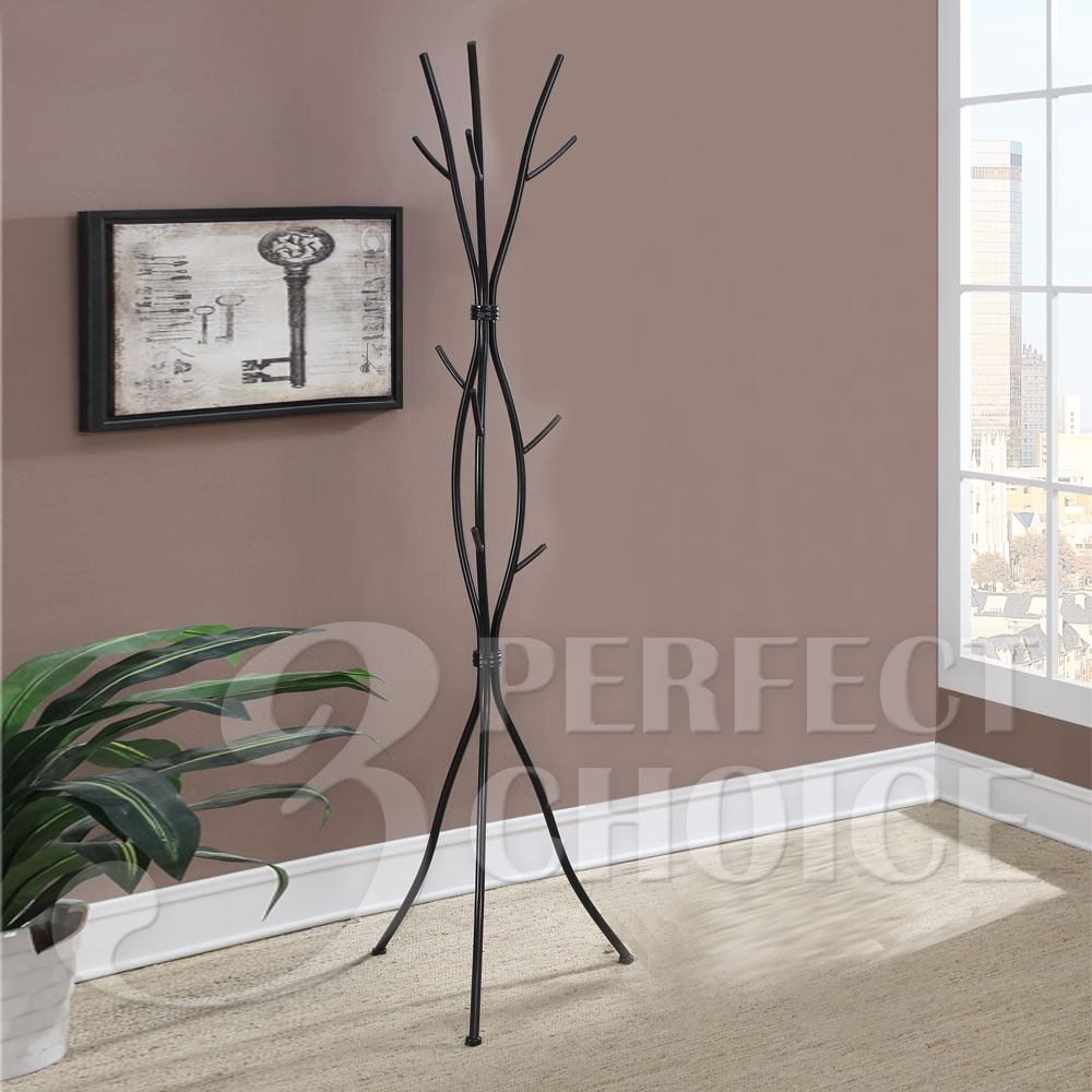 Unique Vine Hallway Office Coat Rack Hat Hook Hanger Tree ...