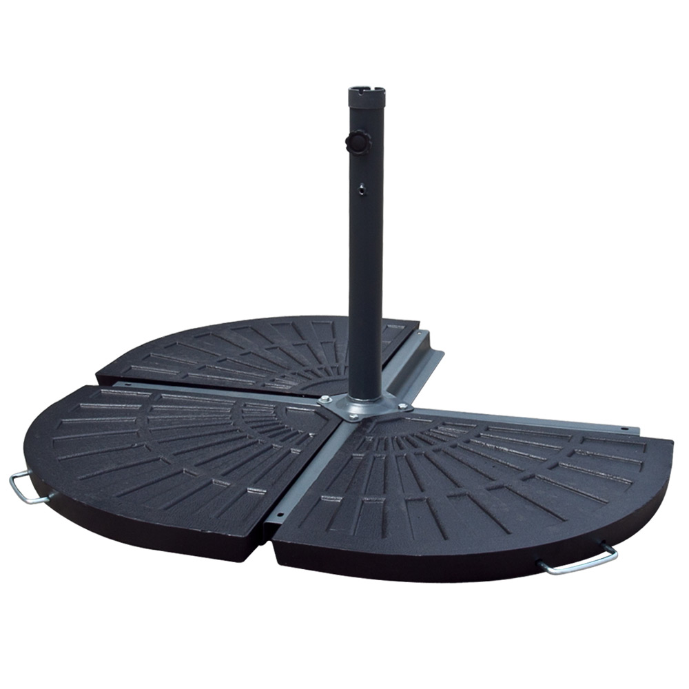 Patio Outdoor 25 Quot Umbrella Polystone Base Stand 31 Lbs