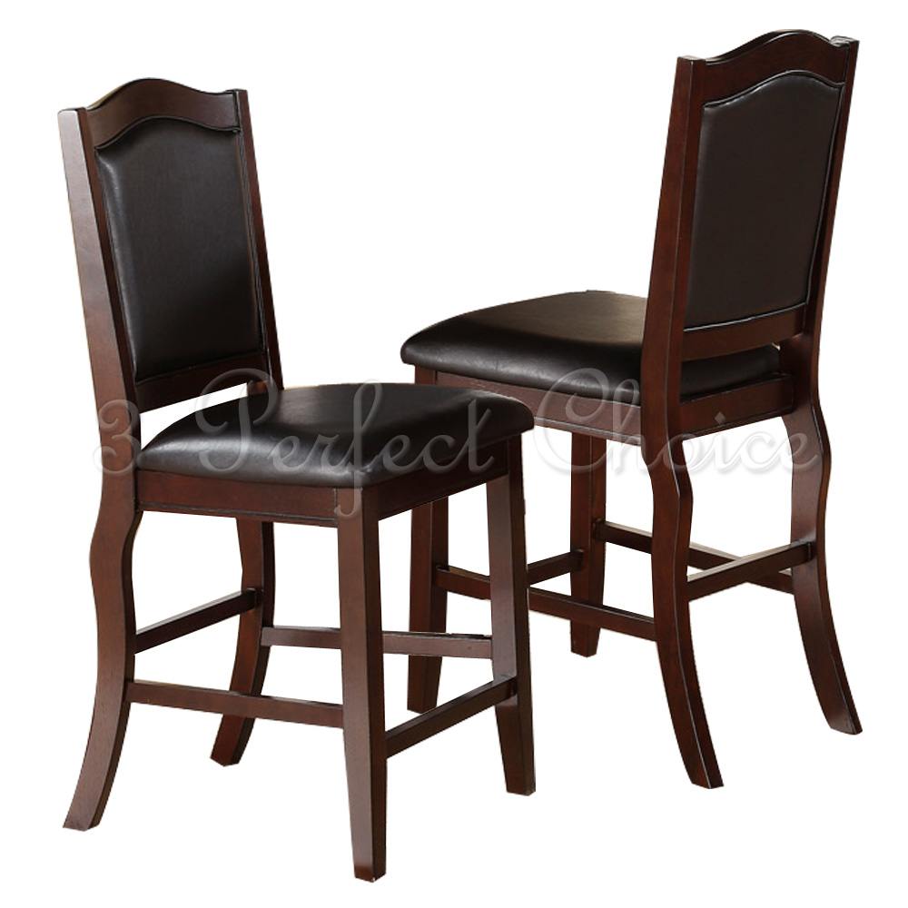 Counter Height Espresso Chairs : ... Counter Height Side Chair Bar Stool 24