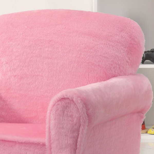 Youth Girl Kids Children Soft Upholstered Seat Club Chair