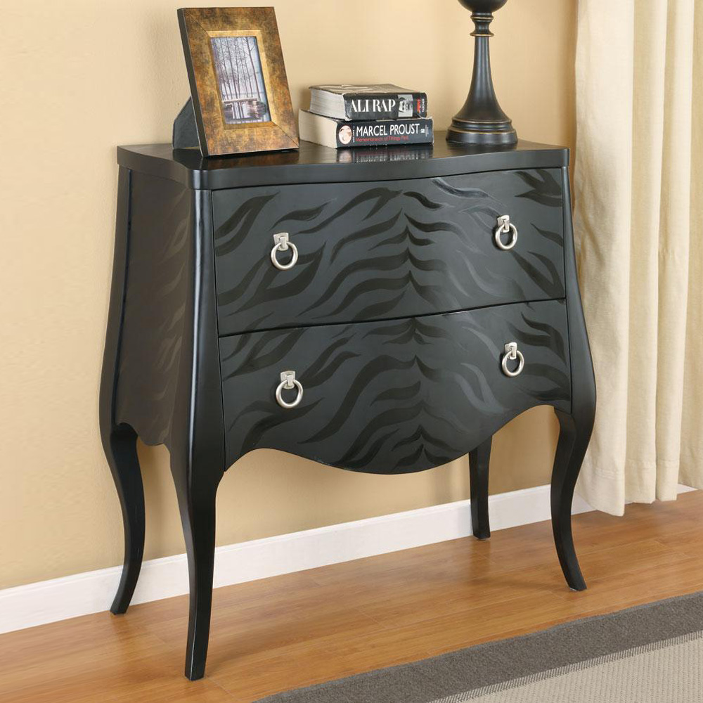Foyer Accent Cabinets : Accent hallway entryway living room cabinet chest animal