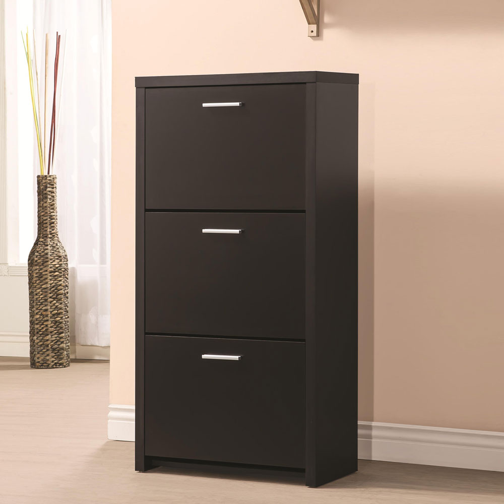 Foyer Cabinet Uk : Black entryway cabinet powell and cherry