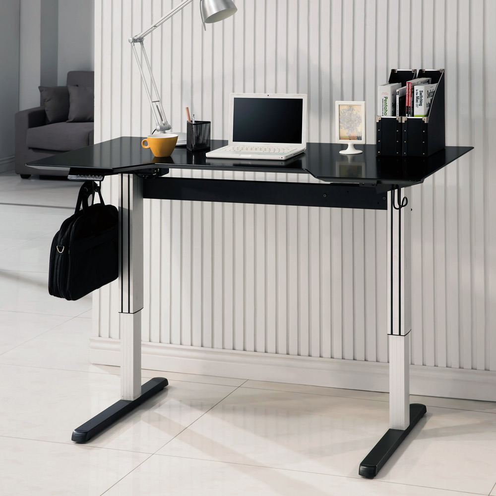 Office home adjustable height computer writing standing for Home office standing desk