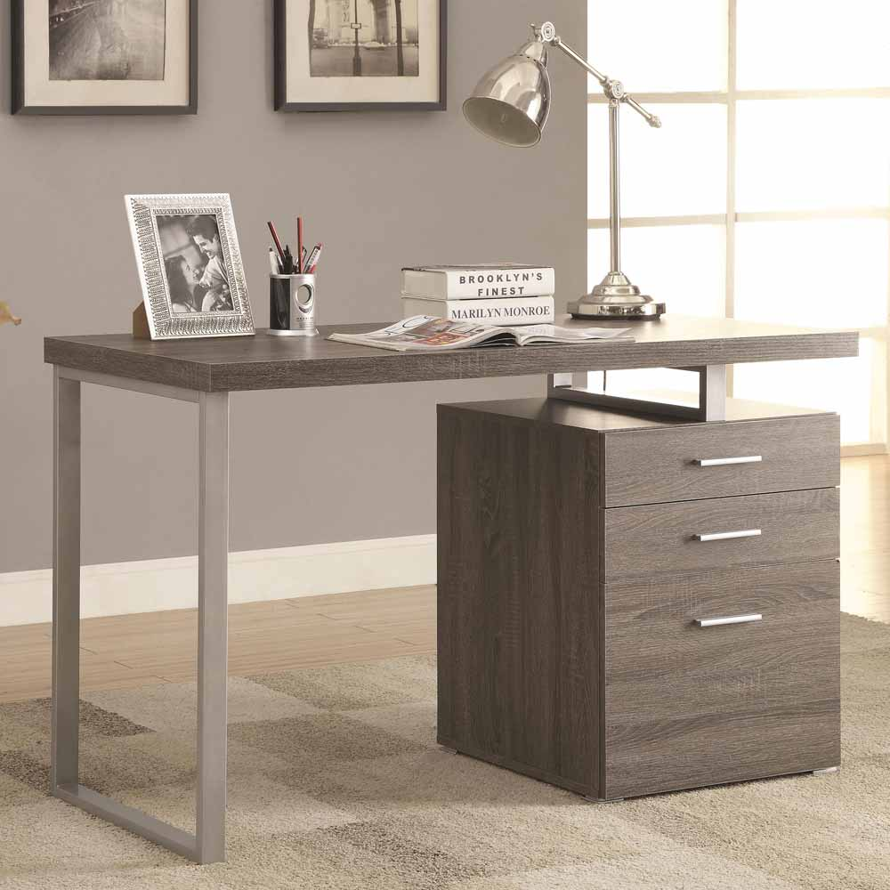 contemporary office puter writing desk file cabinet