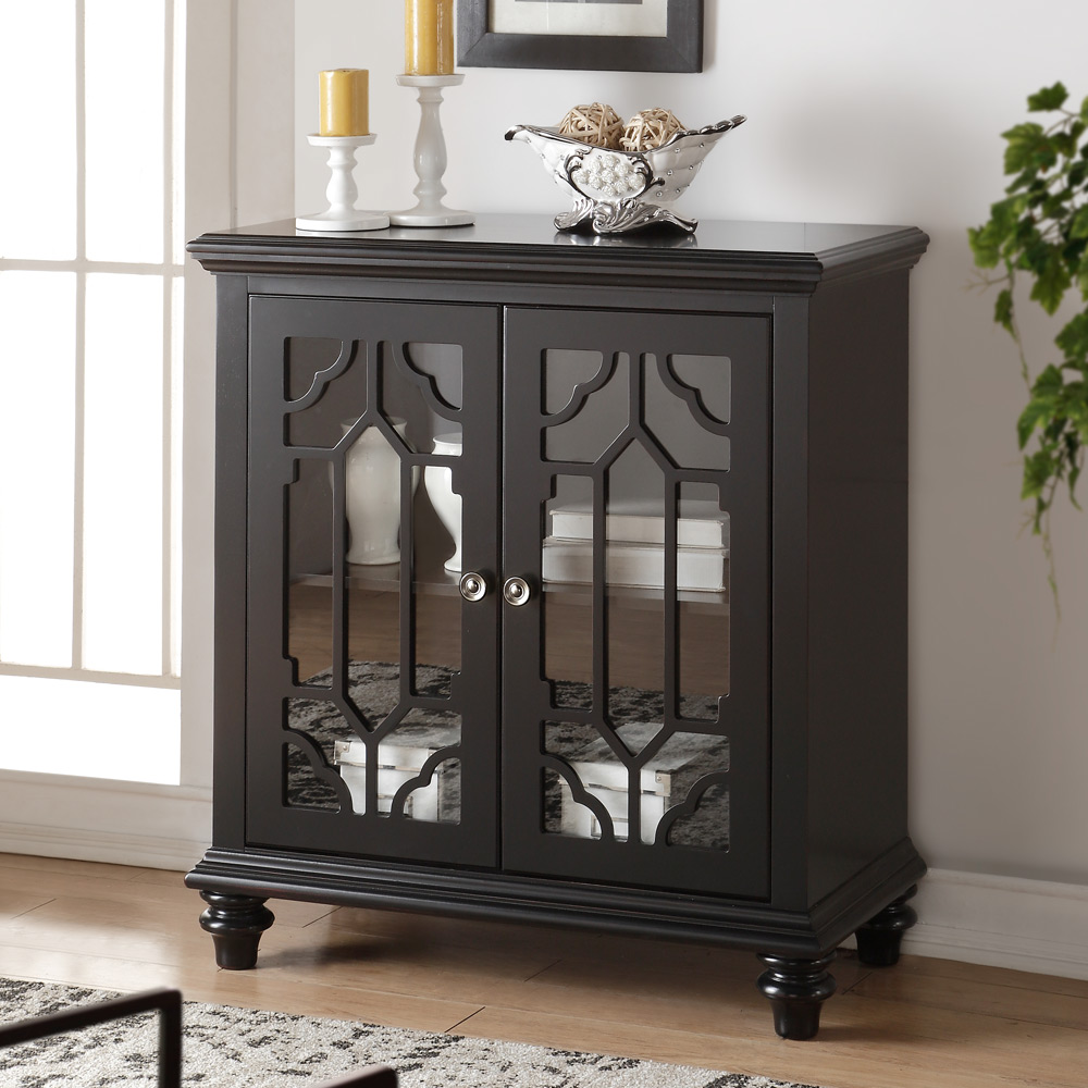 enzo hallway living room console sofa table stand cabinet chest doors antique ebay. Black Bedroom Furniture Sets. Home Design Ideas
